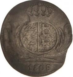 Кованица > 3крајцера, 1807-1814 - Virtemberg  - reverse