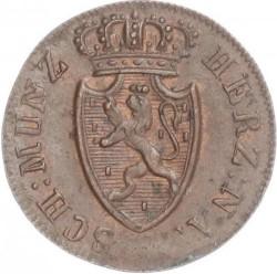 Монета > ¼крейцера, 1817-1822 - Нассау  - obverse