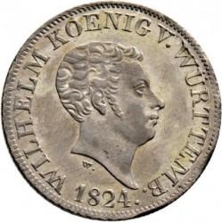 Кованица > 12крајцера, 1824 - Virtemberg  - obverse