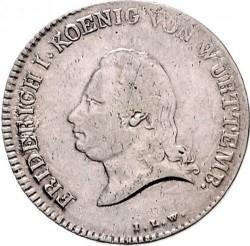 Кованица > 20крајцера, 1810-1812 - Virtemberg  - obverse