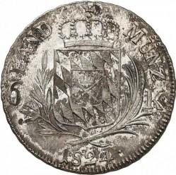 Кованица > 6крајцера, 1806-1825 - Bavaria  - reverse