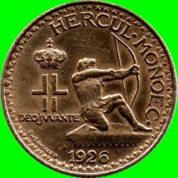 Кованица > 1франак, 1926 - Монако  - obverse