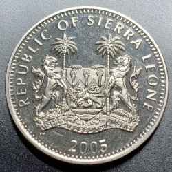 Moneta > 1dollaro, 2005 - Sierra Leone  (60° anniversario - Fine della seconda guerra mondiale. Offensiva delle Ardenne ) - obverse