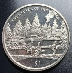 Moneta > 1dollaro, 2005 - Sierra Leone  (60° anniversario - Fine della seconda guerra mondiale. Offensiva delle Ardenne ) - reverse