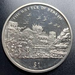 Moneta > 1dollaro, 2005 - Sierra Leone  (60° anniversario - Fine della seconda guerra mondiale. Battaglia di Berlino) - reverse