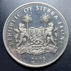 Moneta > 1dollaro, 2005 - Sierra Leone  (60° anniversario - Fine della seconda guerra mondiale. Battaglia d'Inghilterra) - obverse