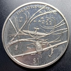 Moneta > 1dollaro, 2005 - Sierra Leone  (60° anniversario - Fine della seconda guerra mondiale. Battaglia d'Inghilterra) - reverse