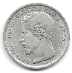 Munt > 1peso, 1869-1871 - Guatemala  - obverse
