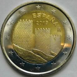 Монета > 2евро, 2019 - Испания  (ЮНЕСКО - Авила) - reverse