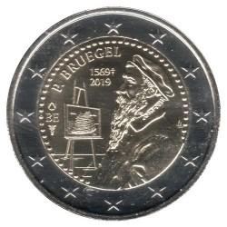 Монета > 2євро, 2019 - Бельгія  (450th Anniversary - Death of Pieter Bruegel the Elder) - reverse