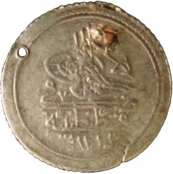 Кованица > 10пара, 1808 - Отоманско Царство  (Flower with two buds at Tugra) - obverse