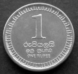 Монета > 1рупія, 2017 - Шрі-Ланка  - obverse