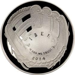 العملة > ١دولار, 2014 - الولايات المتحدة الأمريكية  (National Baseball Hall of Fame) - obverse