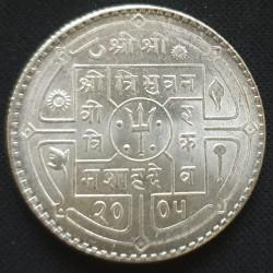 العملة > 1روبية, 1948 - نيبال  (Dots around trident) - obverse