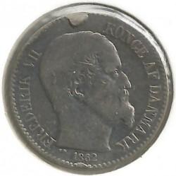 Monēta > 10centu, 1859-1862 - Danish West Indies  - obverse