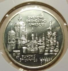 Moneta > 200corone, 1997 - Slovacchia  ( Banská Štiavnica) - reverse