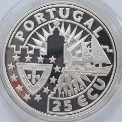 Moneta > 25ECU, 1994 - Portugalia  (Europa i Nowy Świat - Manuel I) - obverse