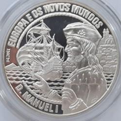 Moneta > 25ECU, 1994 - Portugalia  (Europa i Nowy Świat - Manuel I) - reverse