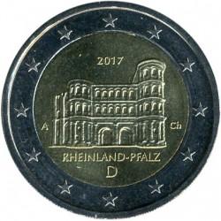 Coin > 2euro, 2017 - Germany  (Porta Nigra, Rhineland-Palatinate) - reverse