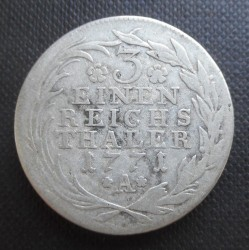 Coin > ⅓reichsthaler, 1764-1774 - Prussia  - reverse
