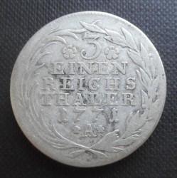 Münze > ⅓Reichsthaler, 1764-1774 - Preussen  - reverse