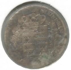 Coin > 3kreuzer, 1831-1835 - Saxe-Meiningen  - reverse