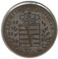 Coin > 6kreuzer, 1831-1835 - Saxe-Meiningen  - obverse