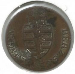 Монета > ½крейцера, 1812-1818 - Саксен-Мейнінген  - reverse