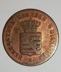 Münze > ½Kreuzer, 1854 - Sachsen-Meiningen  - obverse
