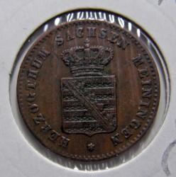 Münze > 2Pfennig, 1867-1870 - Sachsen-Meiningen  - obverse