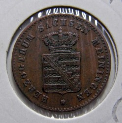 Moneta > 2pfenigai, 1867-1870 - Saksas-Meiningenas  - obverse