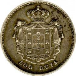 Moneda > 500réis, 1854 - Portugal  - reverse