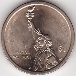 العملة > ١دولار, 2018 - الولايات المتحدة الأمريكية  (الابتكار الأمريكي) - obverse