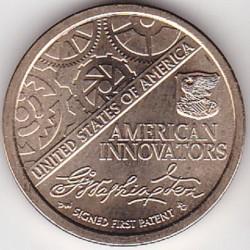 العملة > ١دولار, 2018 - الولايات المتحدة الأمريكية  (الابتكار الأمريكي) - reverse