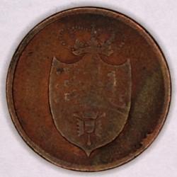 سکه > 3skilling, 1815 - دانمارک  - obverse
