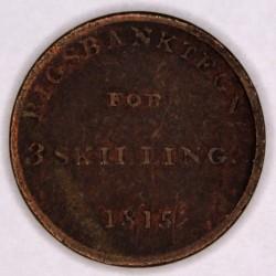 سکه > 3skilling, 1815 - دانمارک  - reverse