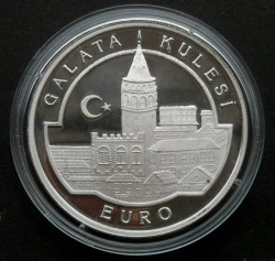 Münze > 3.000.000Lira, 1998 - Türkei  (Galataturm) - obverse