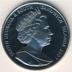 Moneta > 2funty, 2007 - Georgia Południowa  (Międzynarodowy Rok Polarny) - obverse