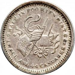 Moneda > 20centavos, 1912 - China - República  - reverse