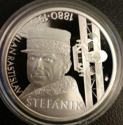 Moneta > 10euro, 2019 - Slovacchia  (100º anniversario - Morte di Milan Rastislav Štefánik) - reverse