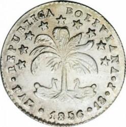 Moneda > 1sueldo, 1855-1856 - Bolivia  - obverse
