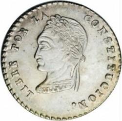 Moneda > 1sueldo, 1855-1856 - Bolivia  - reverse