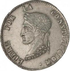 Νόμισμα > 4sueldos, 1853-1859 - Βολιβία  - obverse