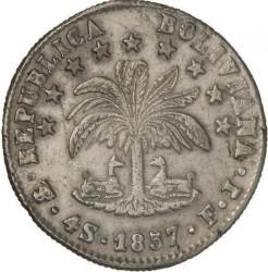 Νόμισμα > 4sueldos, 1853-1859 - Βολιβία  - reverse