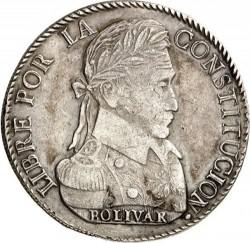 Monēta > 8sueldos, 1827-1840 - Bolīvija  - reverse