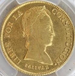 Monēta > 8scudos, 1841-1847 - Bolīvija  - reverse
