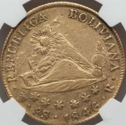 Moneta > 8scudi, 1841-1847 - Bolivia  - obverse