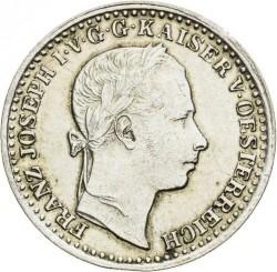 Монета > 10кройцера, 1858-1865 - Австрия  - obverse