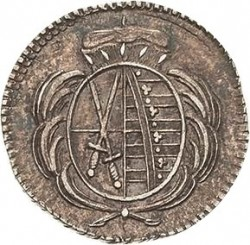 Moneda > 1heller, 1778-1806 - Saxònia  - obverse