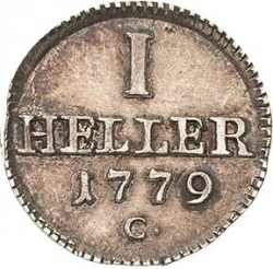 Moneda > 1heller, 1778-1806 - Saxònia  - reverse